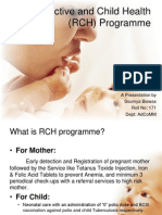 Reproductive and Child Health