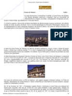 Revista Turismo - Zona Franca de Manaus