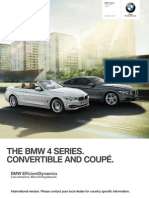 Bmw 4series Coupe Convertible Catalogue