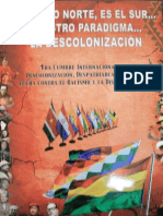 Descolonizacion Cumbre 2013