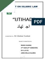 Ijtihaad...Project