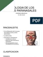 Patologia de Los Senos Paranasales