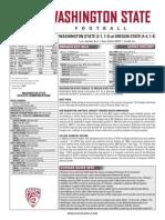 WSU 14FB Game Notes - Oregon State