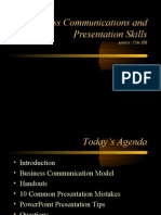 Business Communication and Presentation Skills-CiteHR
