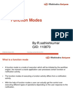 Function Modes