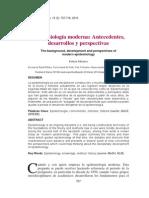 2013 Méndez - Epidemiología Moderna