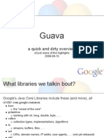 Guava a Sketchy Overview