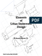 Elements of Urban Stormwater