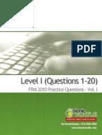 L1.2010.GARP Practice Exam A