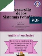 Desarrollo del sistema fonologico