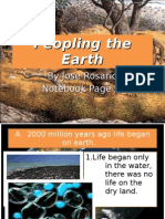 Peopling the Earth