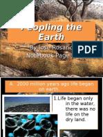 Peopling the Earth