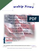 November 4, 2014 Fellowship News