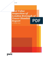 Best Value Inspection of London Borough of Tower Hamlets Report