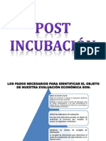 Post Incubacion Diapositivas