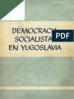 Democracia Socialista en Yugoslavia