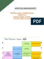 Configuration Management CMMI