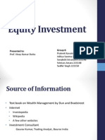 PWM Equity Investment Presentation