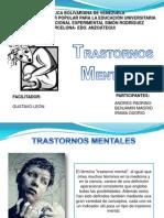 Diagnostico estadistico de los trastornos mentales