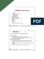 Wireless Medium Access Control