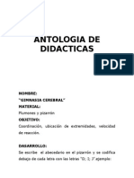 Antología de Dinámicas - Juegos Varios
