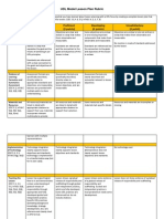 edsp620 udl model lessonplan rubric