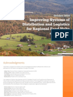 Improving Systems of Distribution and Logistics for Regional Food Hubs