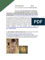 Caso 2. El beso, obra pictórica de Gustav Klimt.