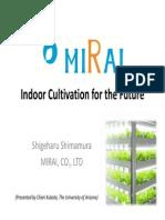 Shigeharu Shimamura LED Farm
