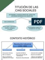En Torno a Las Primeras Ciencias Sociales