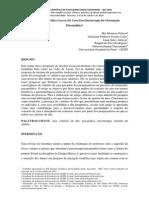 Revisão Bibliográfica Acerca Da Cura Em Psicoterapia De Orientação Psicanalítica¹