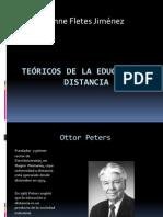 Teóricos de La Educación a Distancia