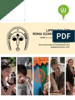 Lippai Balázs Roma Szakkollégium Tájékoztató
