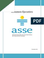 1. Resumen Ejecutivo de ASSE Noviembre 2011
