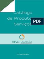 Catalogo de produtos Neoprospecta