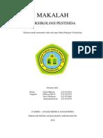 makalah TOKSIKOLOGI PESTISIDA