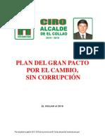 Plan de Gobierno El Collao