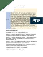 Proyecto Despenalización de la Interrupción del Embarazo