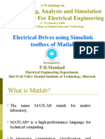 Drives Using Simulink