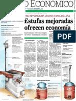 Estufas mejoradas ofrecen economía