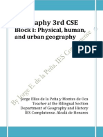 I. Geography. Physical, Human, And Urban