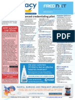 Pharmacy Daily for Wed 05 Nov 2014 - Advanced credentialing pilot, 45% interested in sildenafil training, GMiA pulls out of PIC, Health, Beauty and New Products, and much more