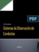 Sistemas Observacion Conductas