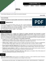 HCV - El Padre Nuestro - 2Nov2014