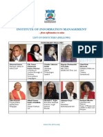 List of Fellow Inductees - IIM-Africa