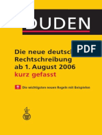 55418183 Duden Die Neue Deutsche Rechtschreibung Kurz Gefasst