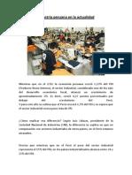 Industria Actual de Perusalen