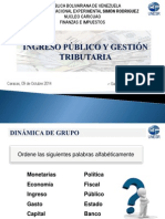 Ingreso Público y Gestión Tributaria