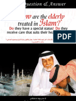 How are the elderly treated in islam