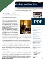 IMB - A Função Econômica Da Poupança e Dos Bens de Capital